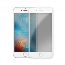Защитное стекло для iPhone 7 / iPhone 8 (матовое) (белое)