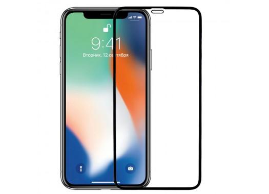 Защитное стекло для iPhone XS (5D)