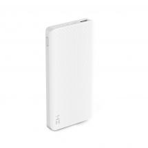 Аккумулятор внешний Xiaomi Mi Power Bank ZMI QB810 10000mAh, белый