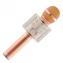 Караоке-микрофон WSTER WS858 (Rose Gold)