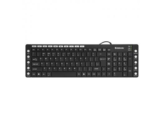 Клавиатура проводная Defender OfficeMate MM-810