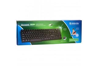 Клавиатура проводная Defender Accent SB-930