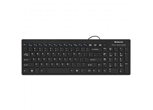 Клавиатура проводная Defender Dominanta XM-500