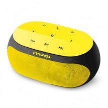 Портативная колонка Awei Y200 (Желтая)