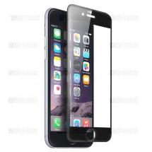 Защитное стекло для iPhone 6 / 6s (3D) (черное)