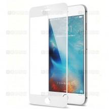 Защитное стекло для iPhone 6 / 6s (3D) (белое)
