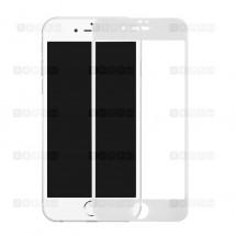 Защитное стекло для iPhone 7 Plus (3D) (белое)