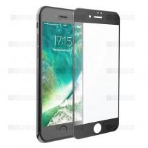Защитное стекло для iPhone 7 Plus (3D) (черное)