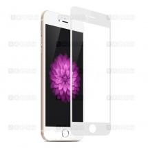 Защитное стекло для iPhone 7 (3D) (белое)