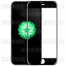 Защитное стекло для iPhone 6 / 6s (5D) (черное)