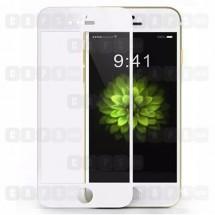 Защитное стекло для iPhone 6 / 6s (5D) (белое)
