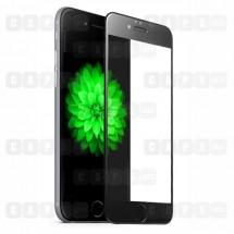 Защитное стекло для iPhone 6 Plus / 6s Plus (5D) (черное)