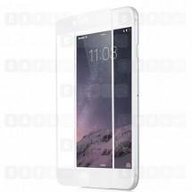 Защитное стекло для iPhone 7 Plus (5D) (белое)