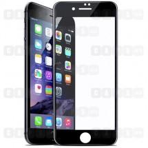 Защитное стекло для iPhone 8 Plus (5D) (черное)