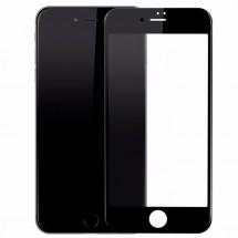 Защитное стекло для iPhone 7 (5D) (черное)