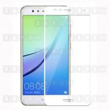 Защитное стекло для Huawei P10 Lite (3D) (белое)
