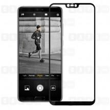 Защитное стекло для Huawei P20 (3D) (черное)