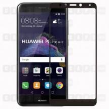 Защитное стекло для Huawei P8 Lite (2017) (3D) (черное)