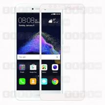Защитное стекло для Huawei P8 Lite (2017) (3D) (белое)