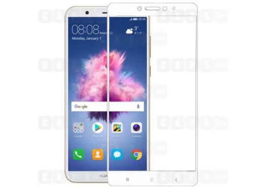 Защитное стекло для Huawei P Smart (3D) (белое)