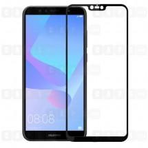 Защитное стекло для Huawei Y6 Prime (3D) (черное)