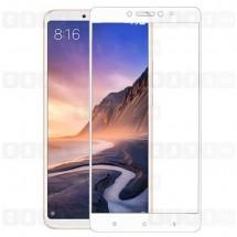 Защитное стекло для Xiaomi Mi Max 3 (3D) (белое)