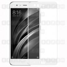 Защитное стекло для Xiaomi Mi 6 (3D) (белое)
